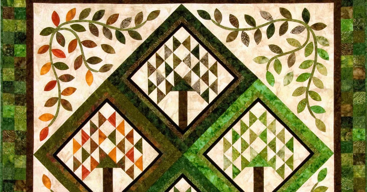 Quilt Inspiration Ode To A Tree In All Seasons