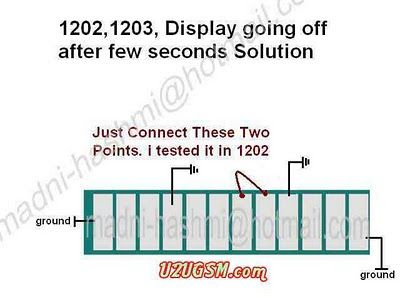 Nokia 1202 Light Problem http://www.gsmsouth.com/2010/11/nokia-1202-1203-1661-1662-display.html