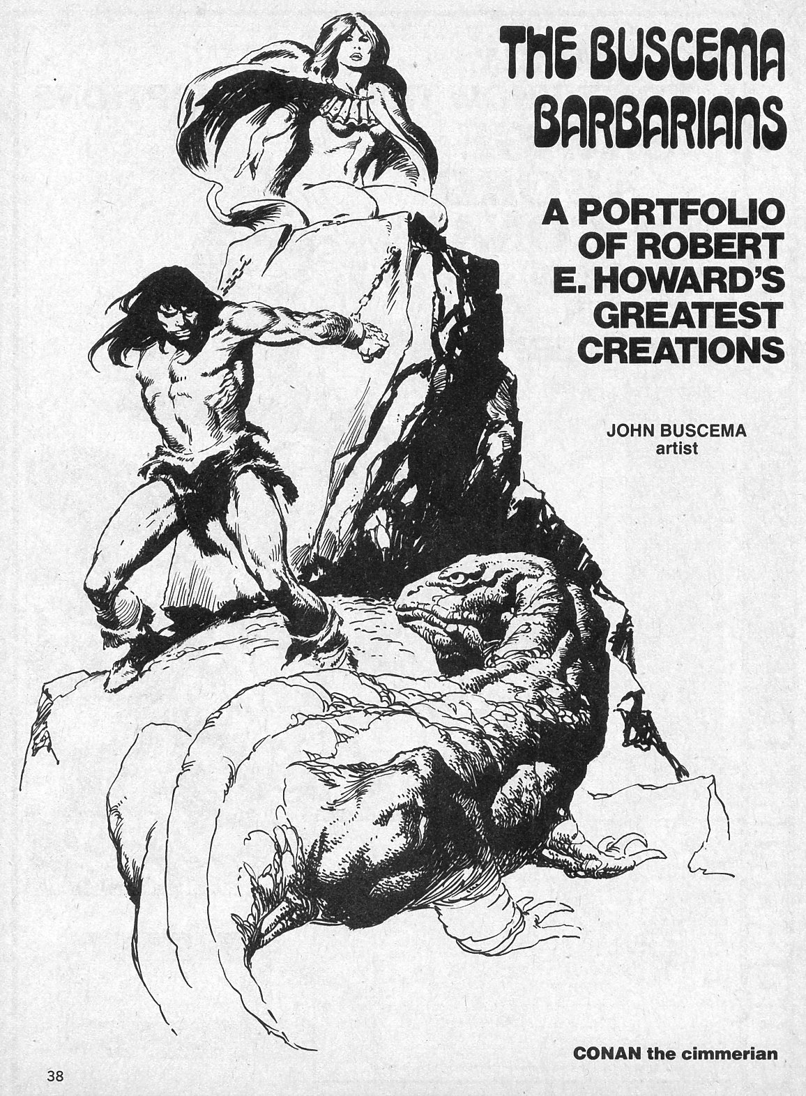 The Savage Sword Of Conan Issue #19 #20 - English 38