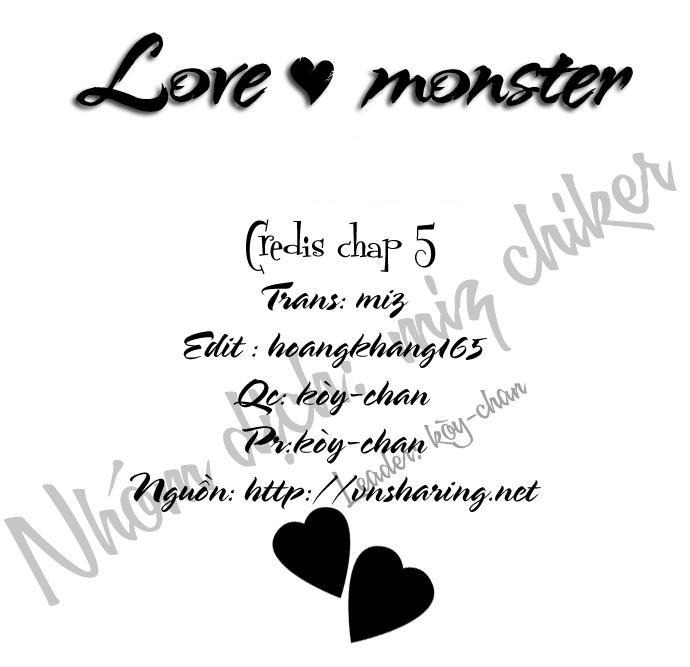 Love♥Monster chap 5 - Trang 26