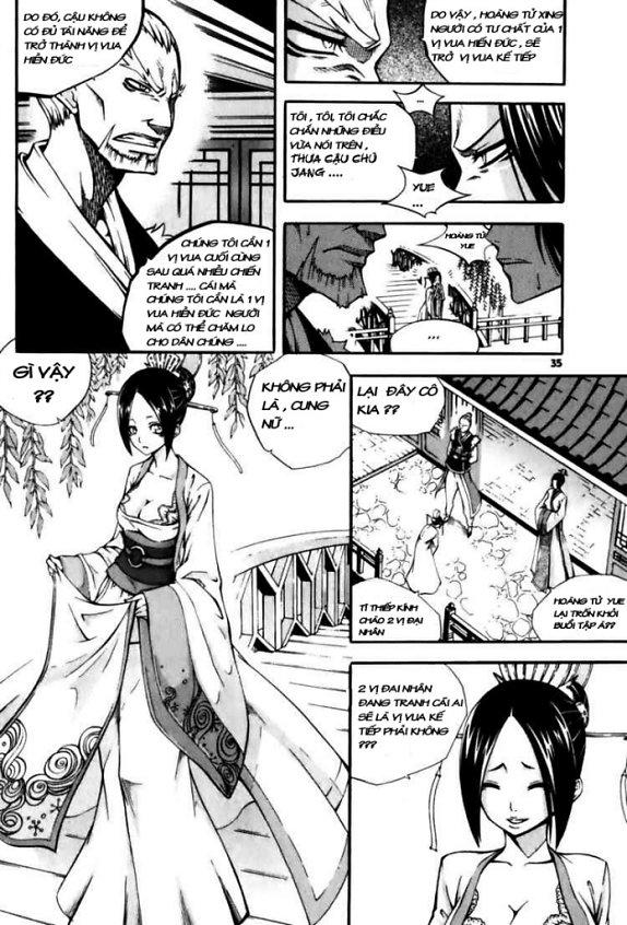 Witch Hunter – Thợ Săn Phù Thủy chap 18 Trang 8 - Mangak.info