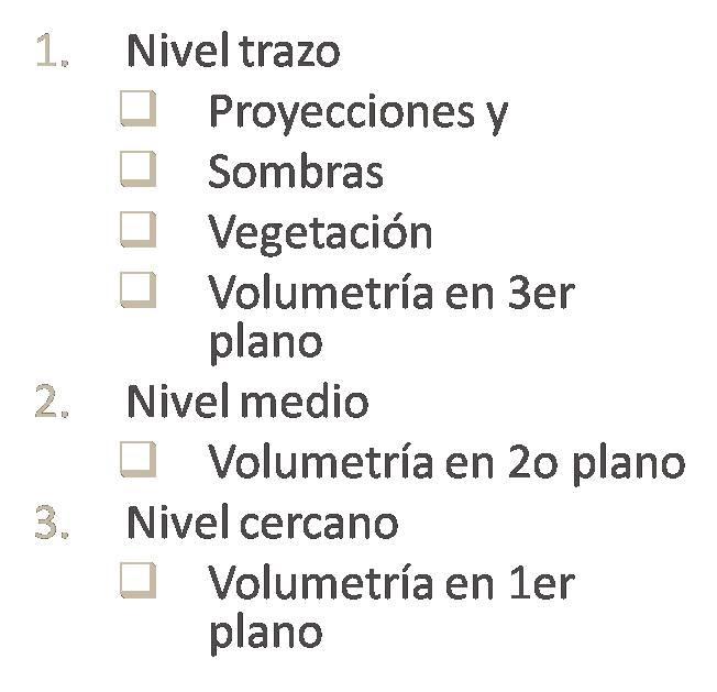 Arquitectura 1 valores de l neas en planos for Representacion arquitectonica en planos