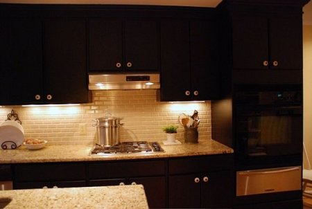 Kitchen on Cabinets For Kitchen  Black Kitchen Cabinets