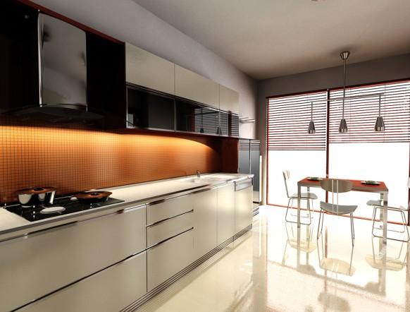 Orange Kitchen Cabinets Kitchen Design Best Kitchen Design Ideas