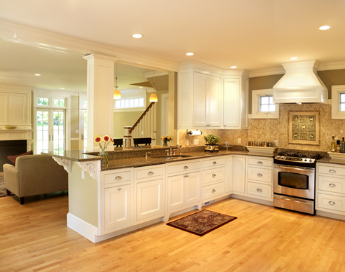 Cabinets for kitchen custom kitchen cabinets buying tips for Custom kitchen remodeling