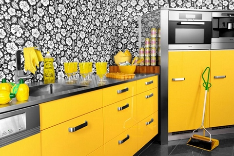 Kitchen Cabinets Yellow cabinets for kitchen: yellow kitchen cabinets