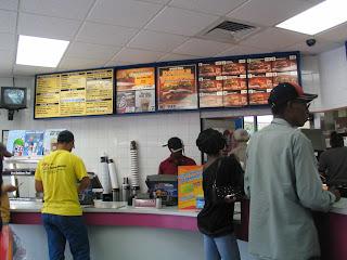 jedzenie w fast foodach