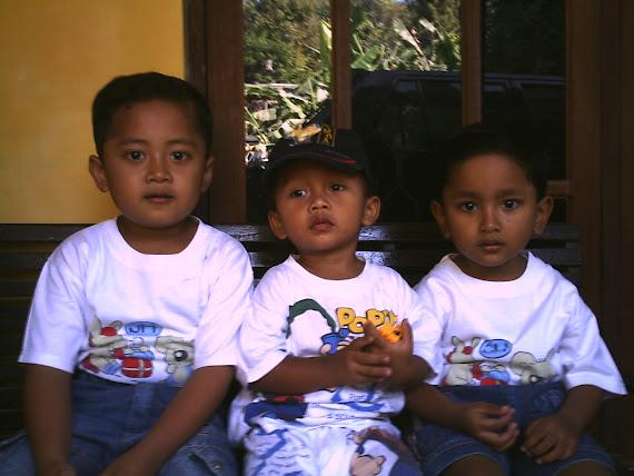 Edo, Yudist dan Marcel