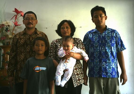 Keluarga Tyas Eko Raharjo