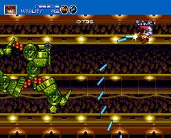 Gunstar Heroes Megadrive