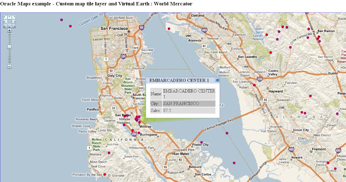 Friedhold 39 s oracle world virtual earth und oracle maps for Portent g3 sl 8