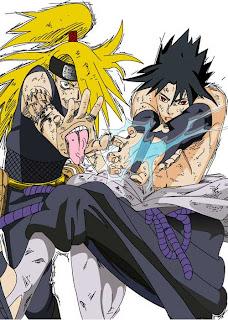 Sasuke Vs Deidara