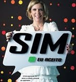 """Sim, eu aceito"""