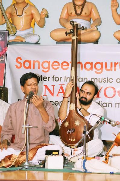 With Sadguru Neyveli R Santhanagopalan