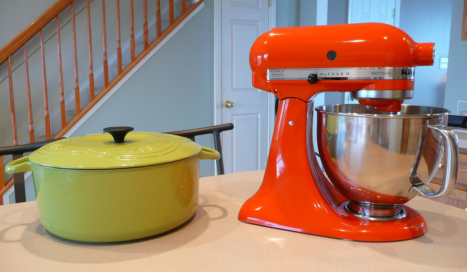 persimmon kitchenaid mixer
