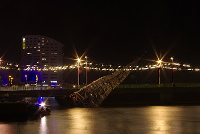 Limerick Christmas crashed into bridge