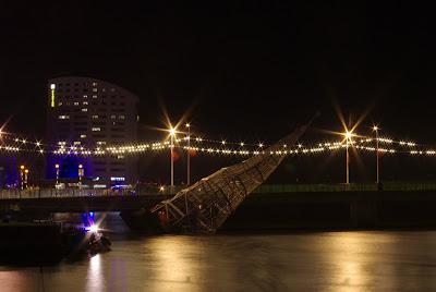 Limerick Christmas crashed into bridge