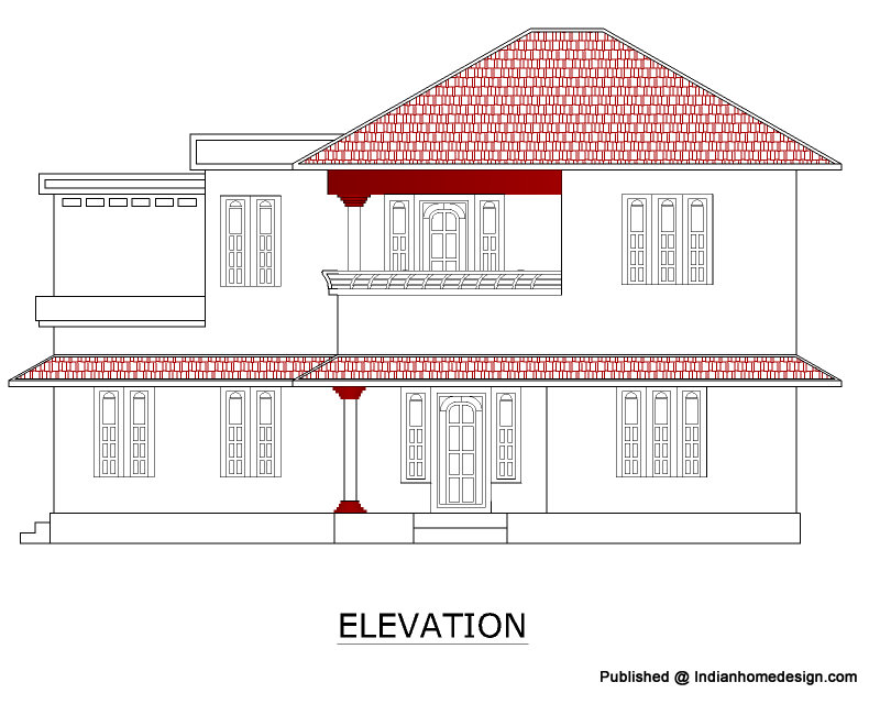 Elevation Plan Definition : Perfect images rcc house plans