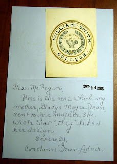 Letter with William Smith seal