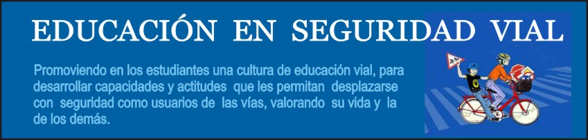EDUCACIÓN EN SEGURIDAD VIAL