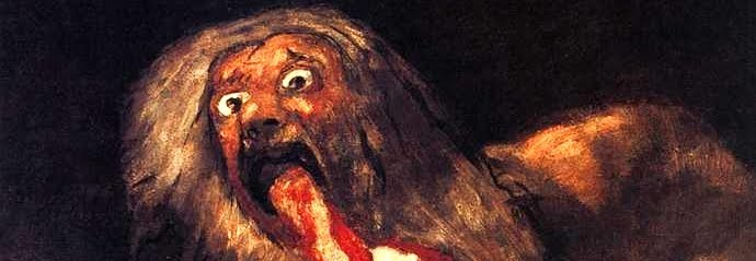 saturn an essay on goya The two paintings that i have decided to compare and contrast are saturn devouring his son by goya and research/analysis on his works 40,000 free essays.