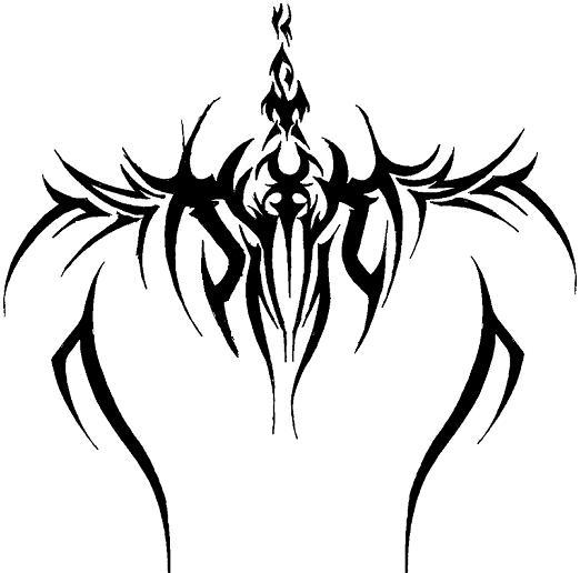 tribal cross tattoos. tattoo tribal designs.