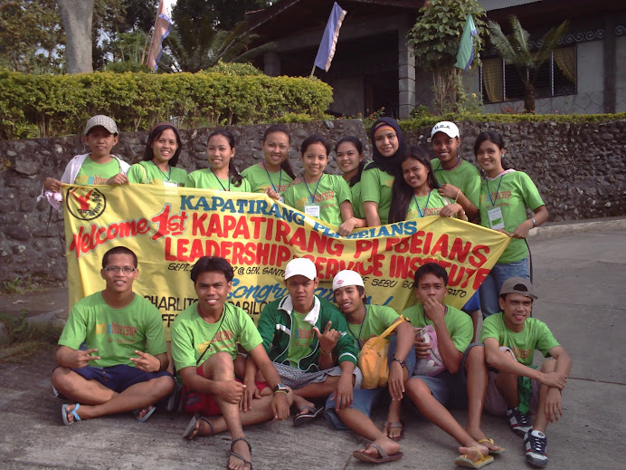 1st Kapatirang Plebeians Leadership and Service Institute