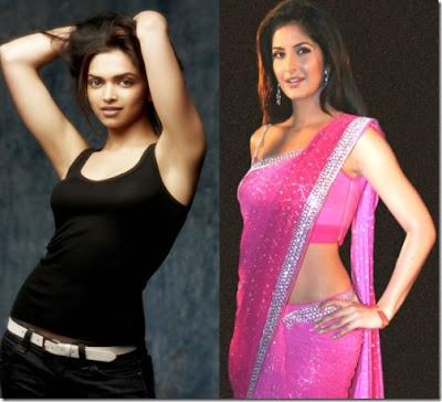 Deepika Padukone, Katrina Kaif