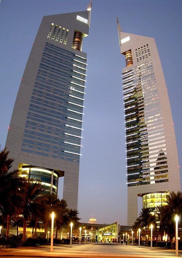 dubai towers dubai. Emirates Office Tower - Dubai,