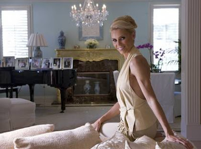 Anna Anka in her mansion...