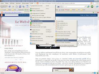 Trouver le profil de Firefox via le menu Outils