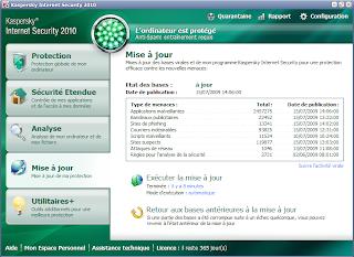 KIS 2010 - Interface et tableau de bord