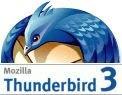 Thunderbird 3 beta 3 - logo Mozilla Thunderbird