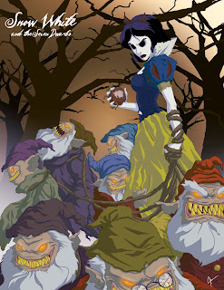 blancanieves terrorífica, twisted princess