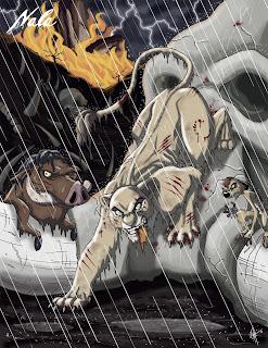 Nala oscura, Nala león terror
