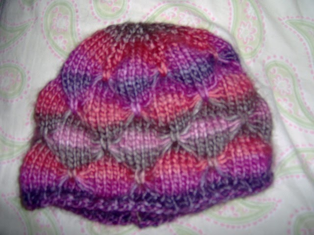 Knitting Pattern Butterfly : Kody may knits give me butterflies hat pattern