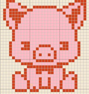 Kody May Knits Piggy