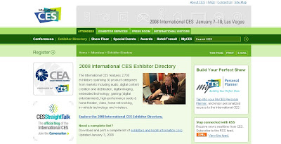 CES website