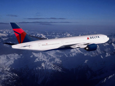 Photograph of Delta Air Lines Plane flying