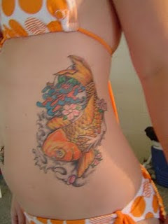 Especially Japanese Koi Fish Tattoo