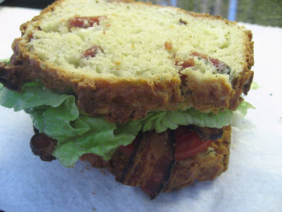 up bacon cheddar quick bacon cheddar quick bread with this warm bacon ...