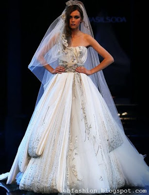 Lebanese fashion wedding gowns by lebanese designers for Lebanese wedding dress designers