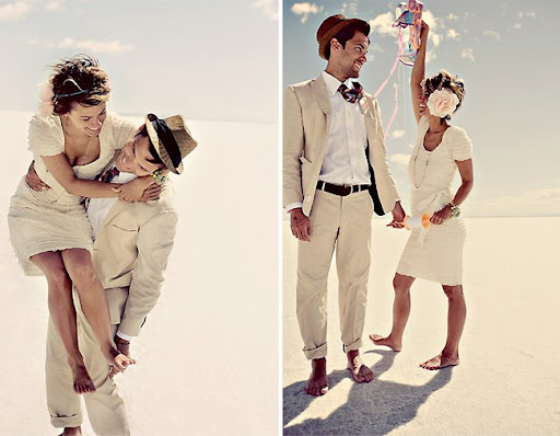 wedding photos day after session salt flats