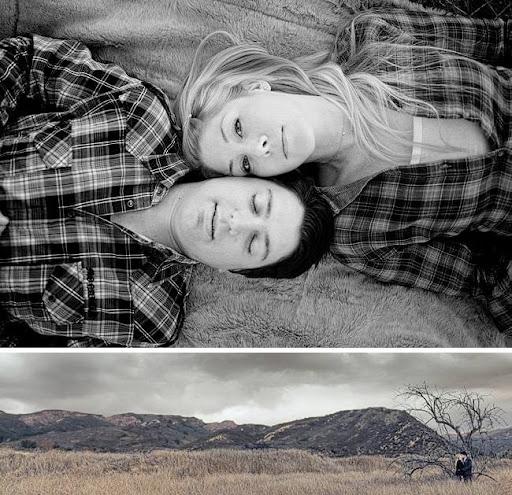 engagement photos in orange county