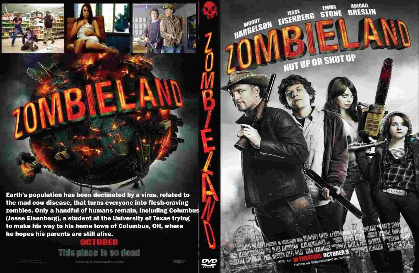 Dvd movies zombieland