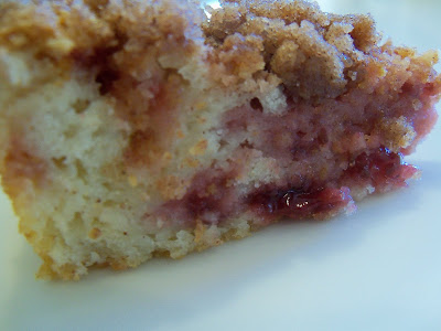 Sour Cream Raspberry Coffee Cake Coffee Not Included