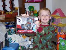 Tayson on Christmas Morning 2008