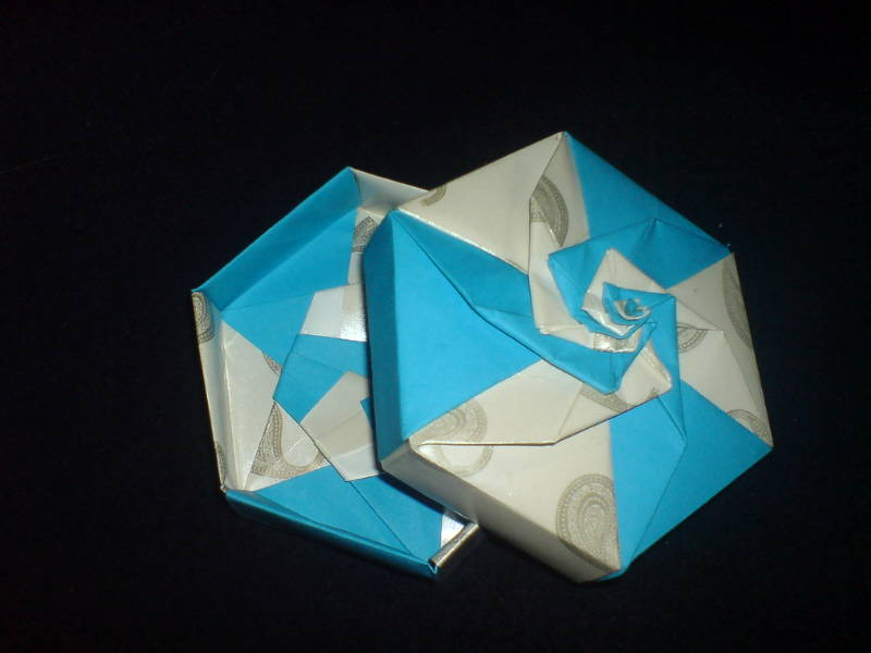 CRaZy CRaFtS Origami Hexagon Box