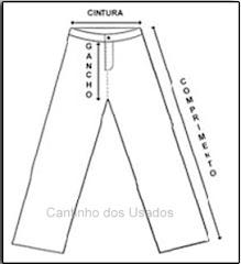 Guia para verificar as medidas da roupa