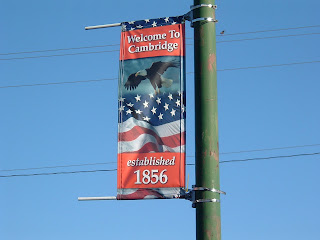 Welcome to Cambridge, established 1856